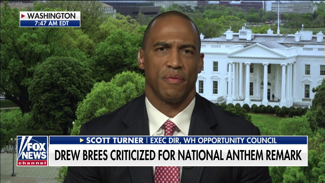 Former NFL player, White House official responds to backlash against Drew Brees over anthem comments - fox