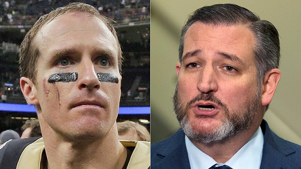 Westlake Legal Group drew-brees-ted-cruz-Reuters-AP Ted Cruz calls Drew Brees' anthem-kneeling apology 'sadly predictable,' rips pro sports Ryan Gaydos fox-news/sports/nfl/new-orleans-saints fox-news/sports/nfl fox-news/person/ted-cruz fox-news/person/drew-brees fox news fnc/sports fnc d211585b-ecbf-5815-9632-ba23e79c6664 article