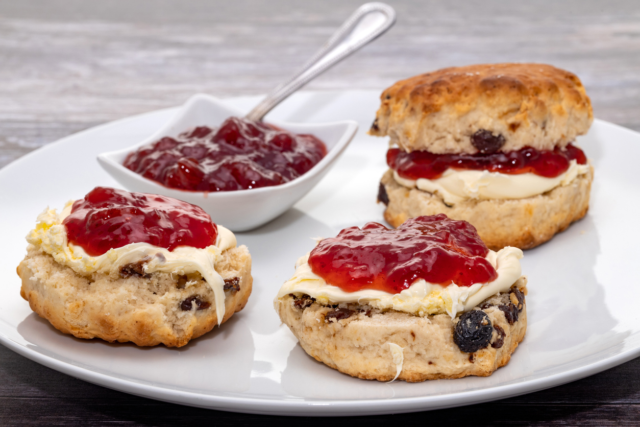 FOX NEWS: Royal eats: Royal Pastry Chefs share fruit scone recipe served at Buckingham Palace