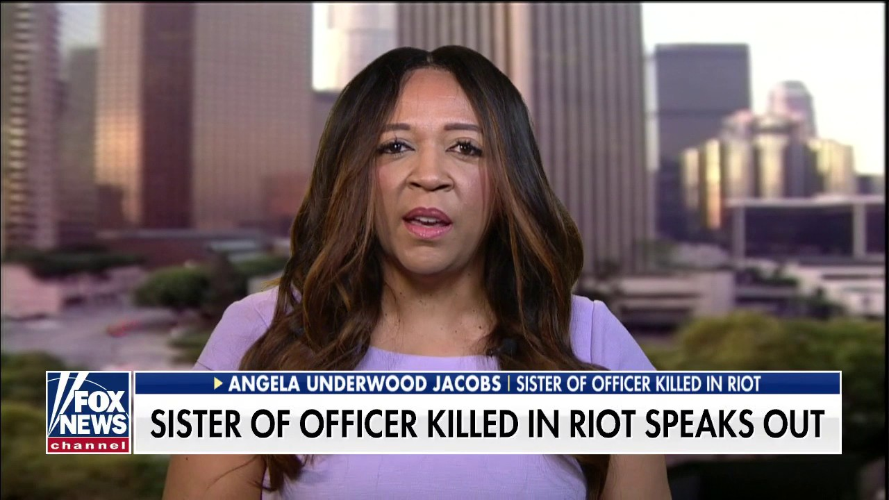 Westlake Legal Group sister-of-officer Sister of California officer killed in George Floyd riots: 'We need to come together as a society' Talia Kaplan fox-news/us/us-regions/west/california fox-news/us/crime/police-and-law-enforcement fox-news/us/crime/homicide fox-news/topic/fox-news-flash fox-news/shows/fox-friends-weekend fox-news/person/george-floyd fox news fnc/media fnc article 6a6e6a74-3ead-576a-9cd1-b178c70d871f