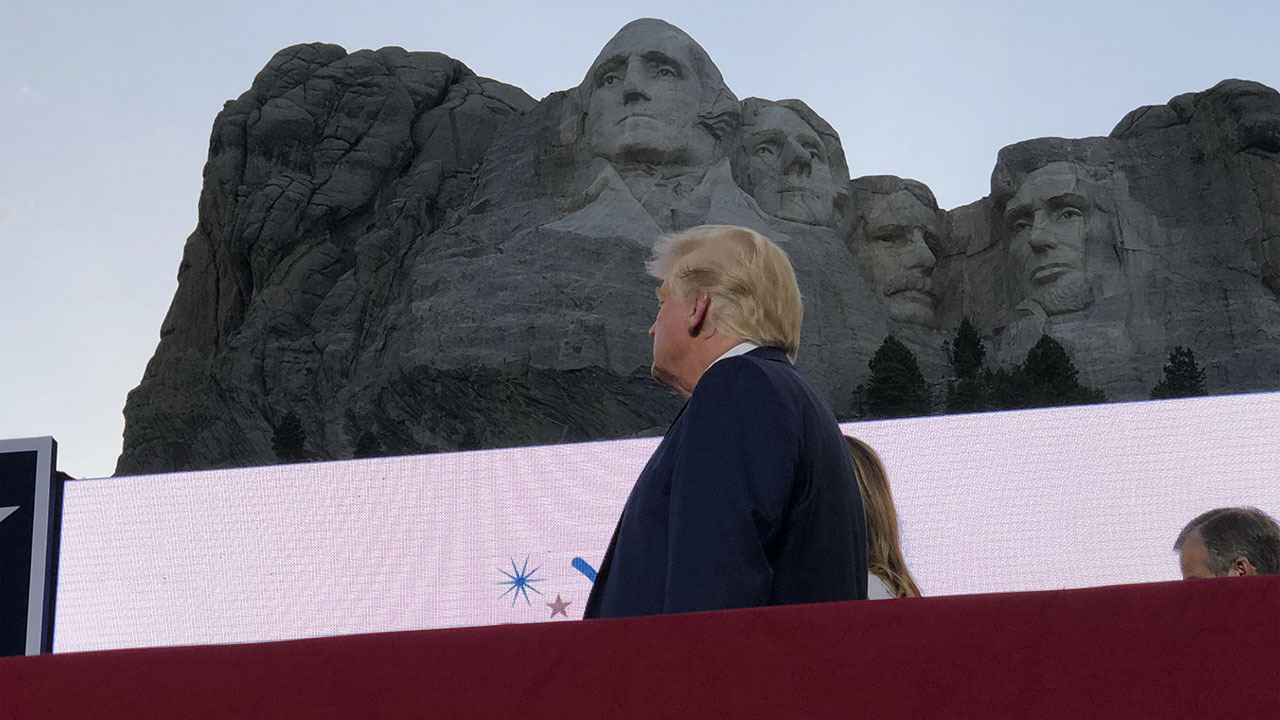 Fred Fleitz: At Mount Rushmore, Trump right to highlight danger leftist radicals pose to America
