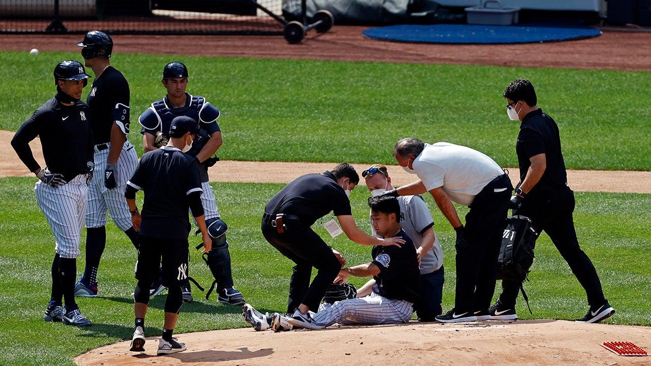 Đồng đội Masahiro Tanaka của Yankees đã lái xe 112 mph lên đầu, đồng đội nói