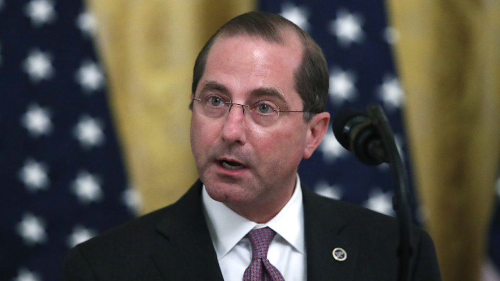 HHS Secretary Azar to become first US Cabinet member to visit Taiwan in 6 years - fox