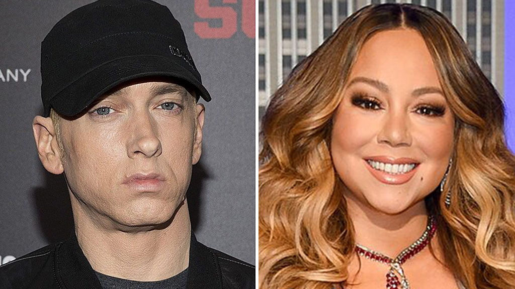 Eminem 'stressed out' about Mariah Carey's upcoming memoir: report thumbnail