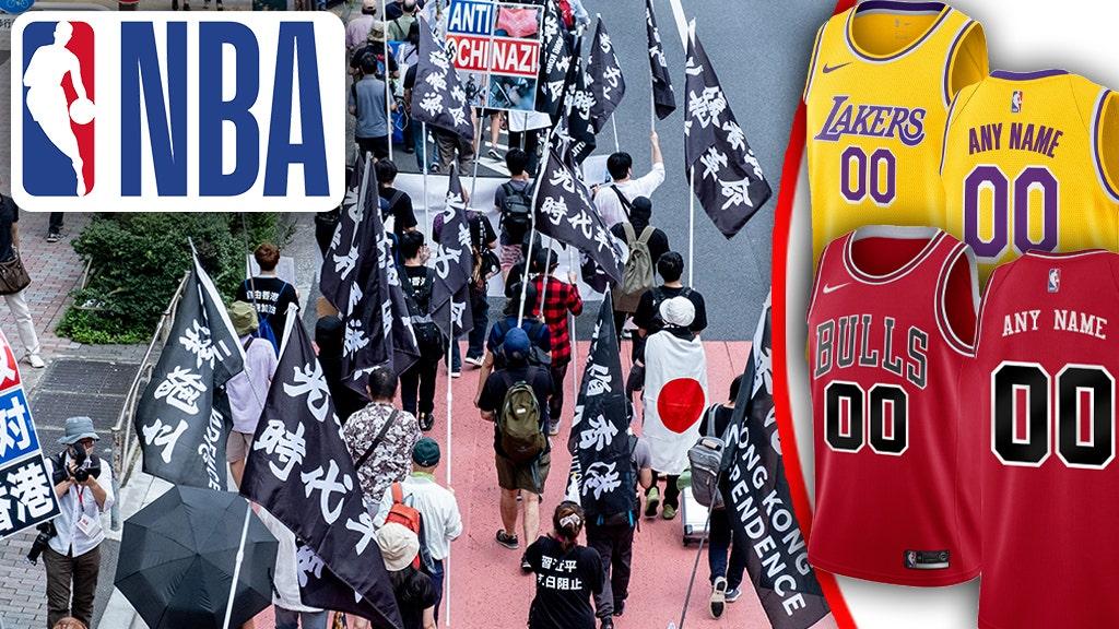 NBA pulls custom gear from online store following
