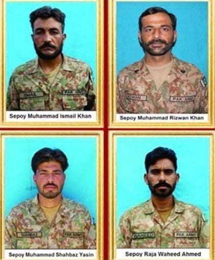 4 quân đội Pakistan, 4 chiến binh thiệt mạng trong vụ xả súng, quân đội cho biết