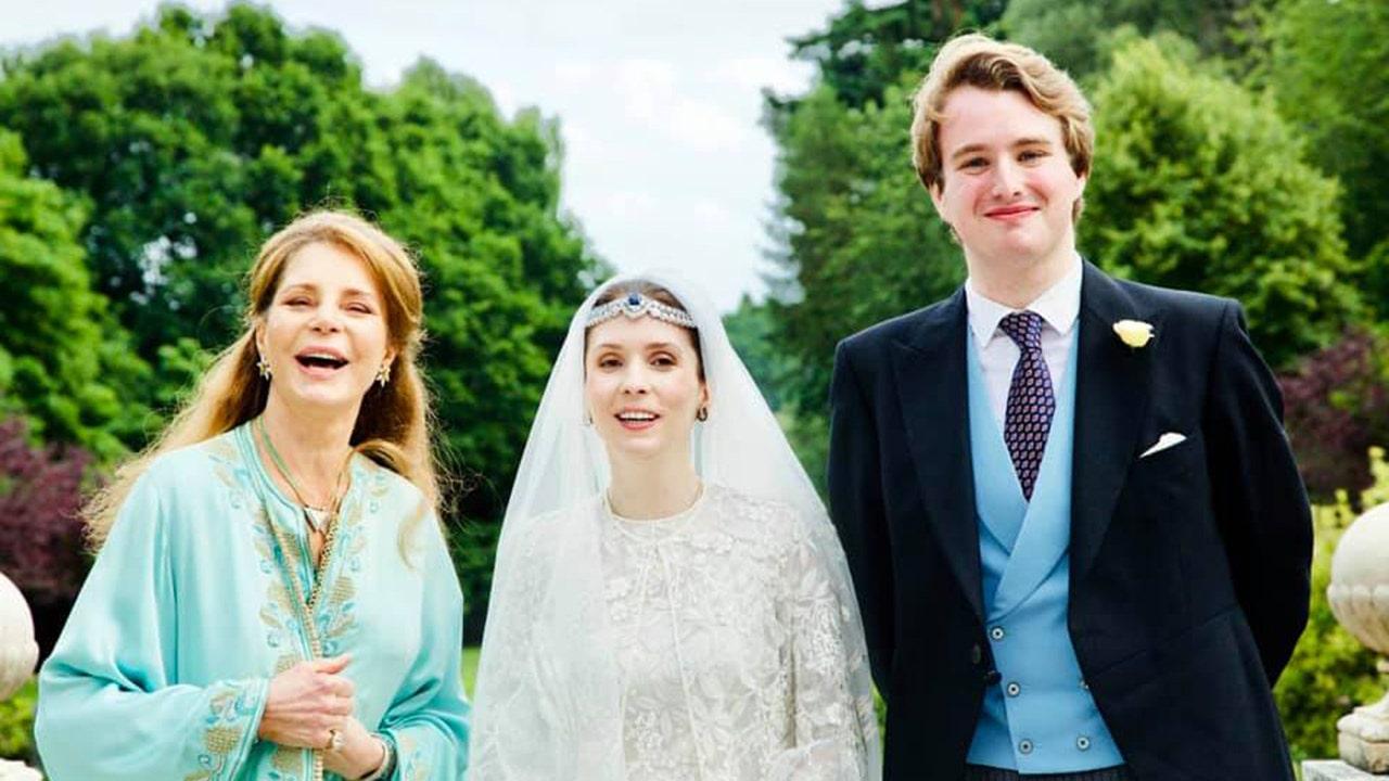 Công chúa Raiyah của Jordan kết hôn trong đám cưới hoàng gia đầu tiên kể từ đại dịch coronavirus