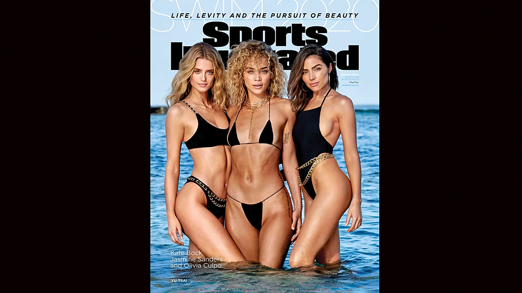 SI Swimsuit models Olivia Culpo, Jasmine Sanders and Kate Bock share 2020 cover