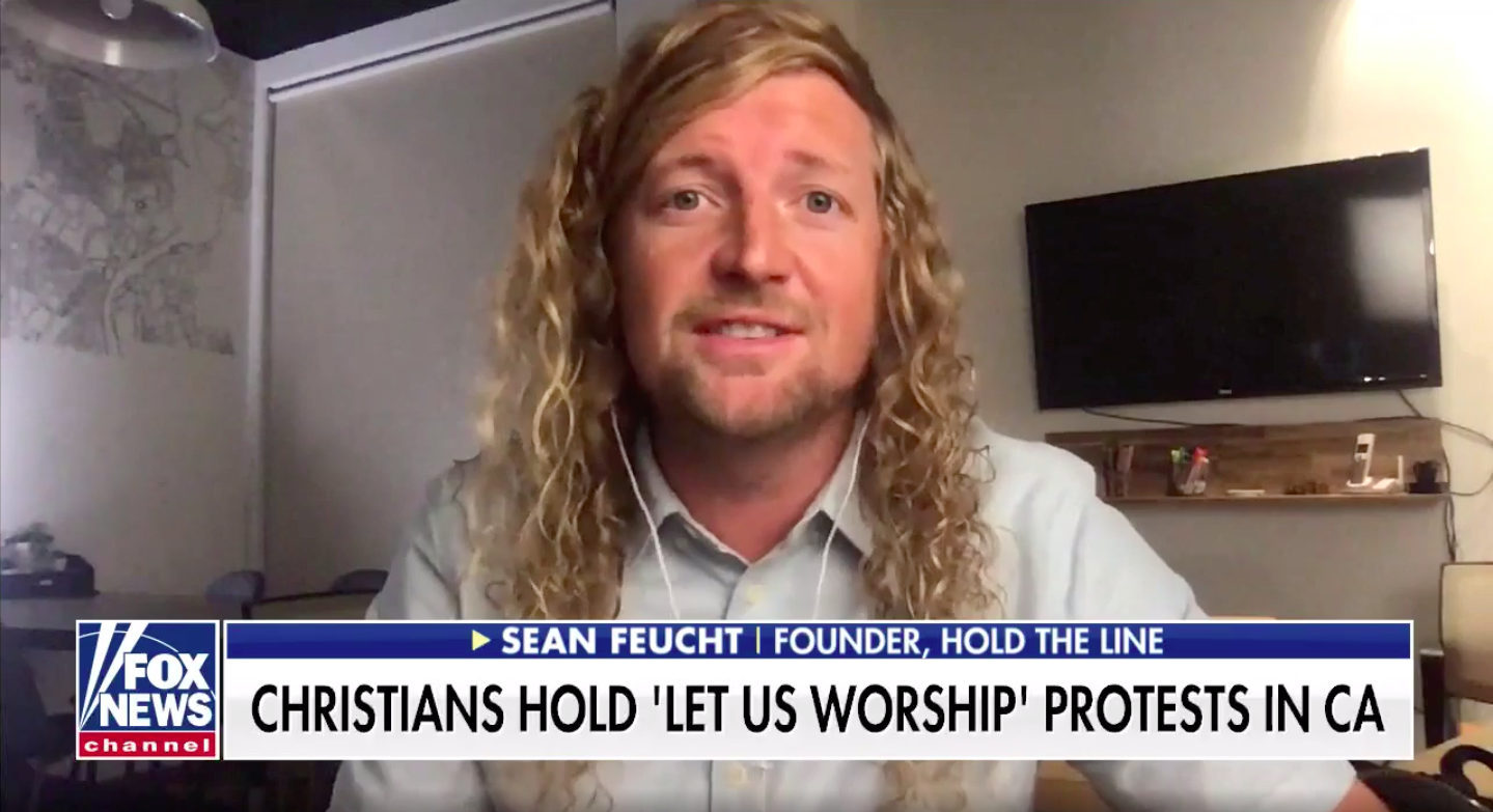 Westlake Legal Group Screen-Shot-2020-07-30-at-9.23.00-AM 'Let Us Worship' founder calls out California leaders' coronavirus lockdown hypocrisy fox-news/us/us-regions/west/california fox-news/us/religion/christianity fox-news/topic/fox-news-flash fox-news/shows/fox-friends fox-news/person/sean-feucht fox-news/health/infectious-disease/coronavirus fox news fnc/us fnc Caleb Parke article 09cb4508-1f0f-580a-a919-6fc427de49ce
