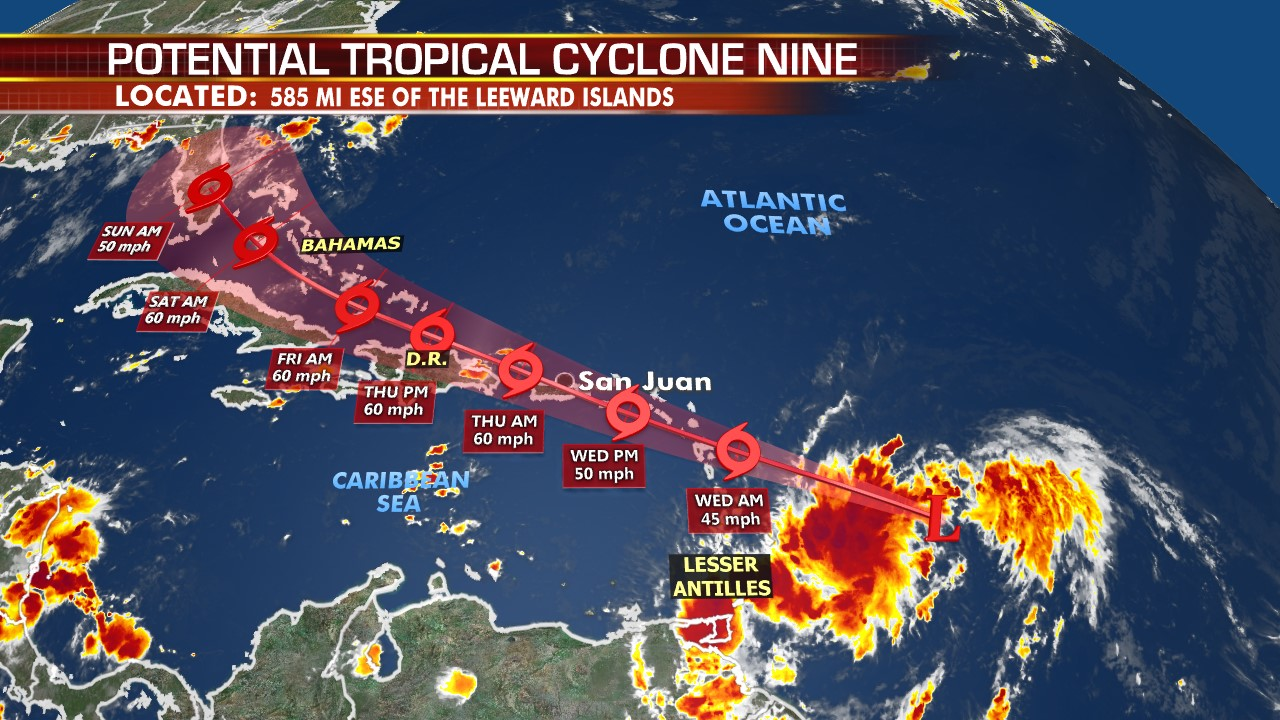 Tropical Storm Isaias forms near Puerto Rico; Florida track shifts: reports – Fox News