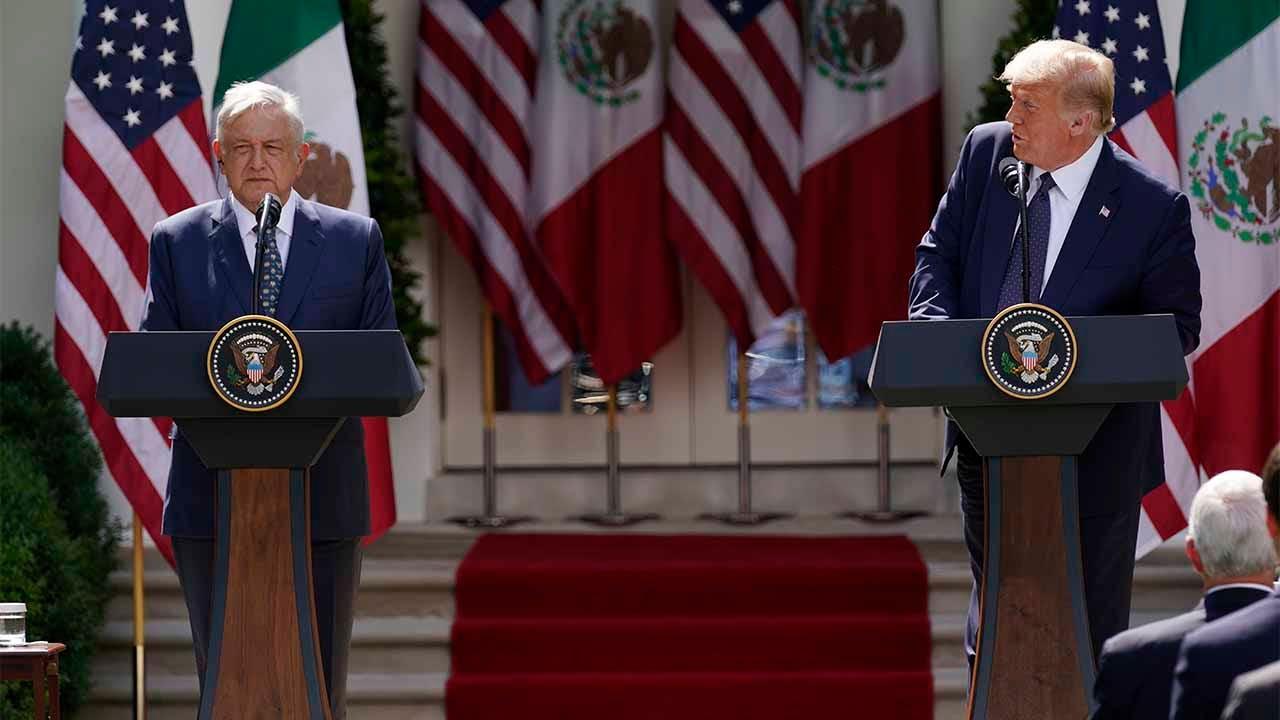 Các trường hợp nhiễm coronavirus của Mexico đã đạt mức cao trong 1 ngày trong chuyến thăm của tổng thống tới Washington