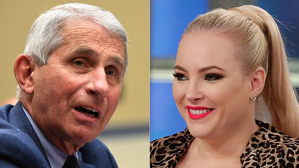 Meghan McCain hits Fauci for answer on whether protests spread COVID: 'Part of the reason Republicans are s... thumbnail