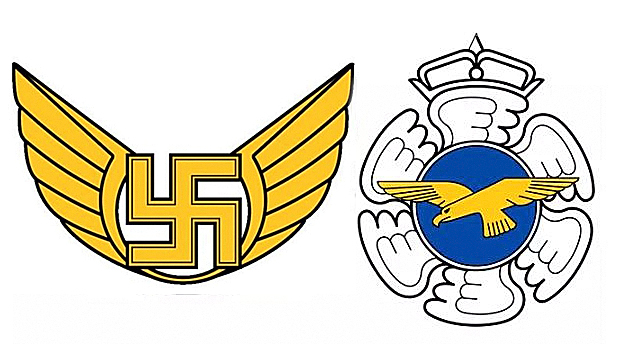 Finland quietly removes swastika logo from its Air Force