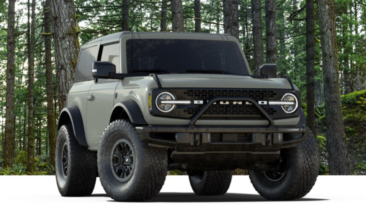 Bad slip? Ford erasing Wrangler name from new Bronco's tires - Fox News