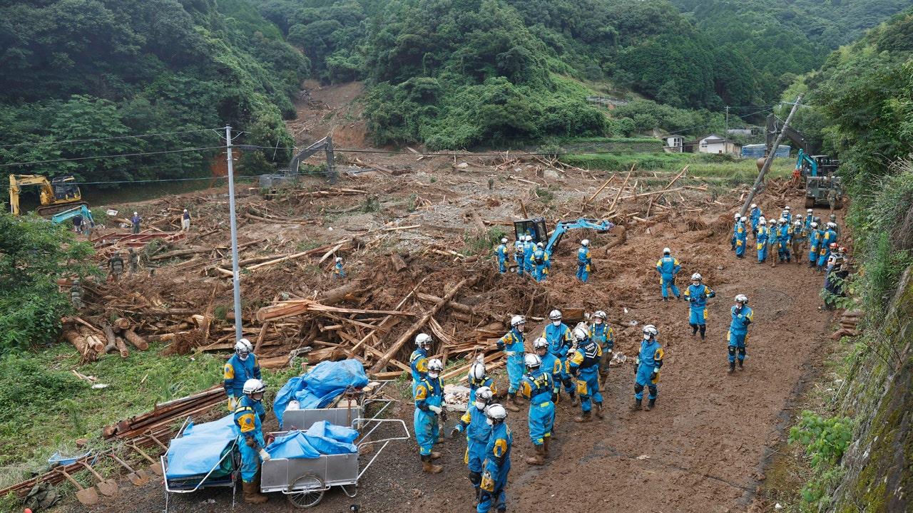 Lũ lụt Nhật Bản khiến 34 người chết, nhiều người ở viện dưỡng lão