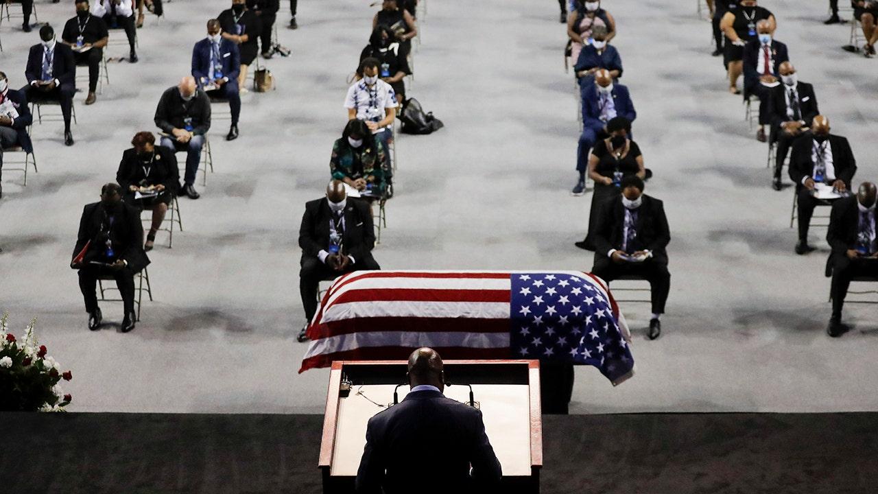 John Lewis arrives in Atlanta to lie in repose at Georgia capitol – Fox News