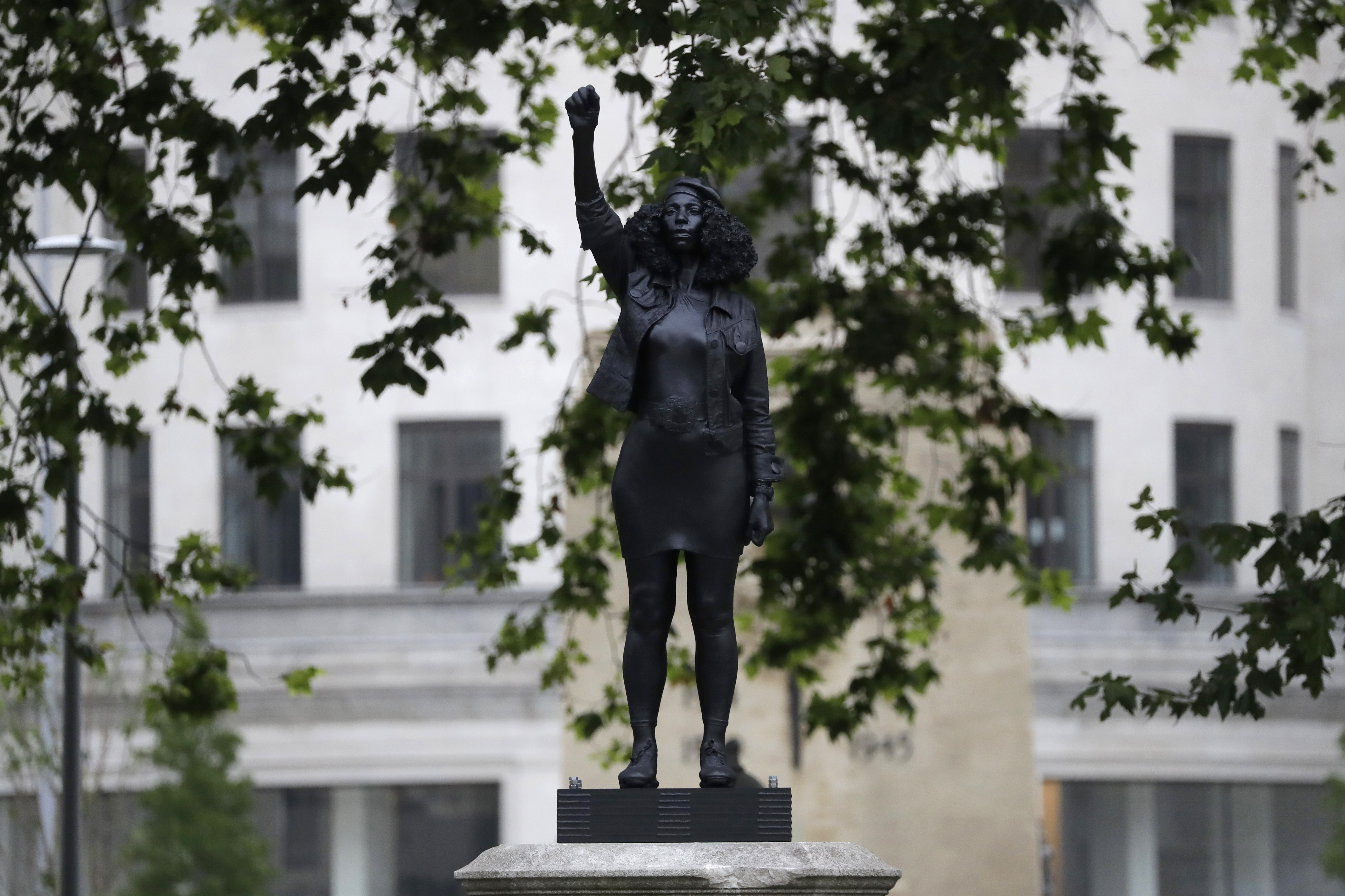Toppled UK statue of slave trader quietly replaced with sculpture of Black Lives Matter protester – Fox News