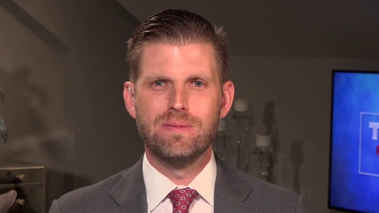 Eric Trump: Joe Biden does not have the 'aptitude' to debate my father