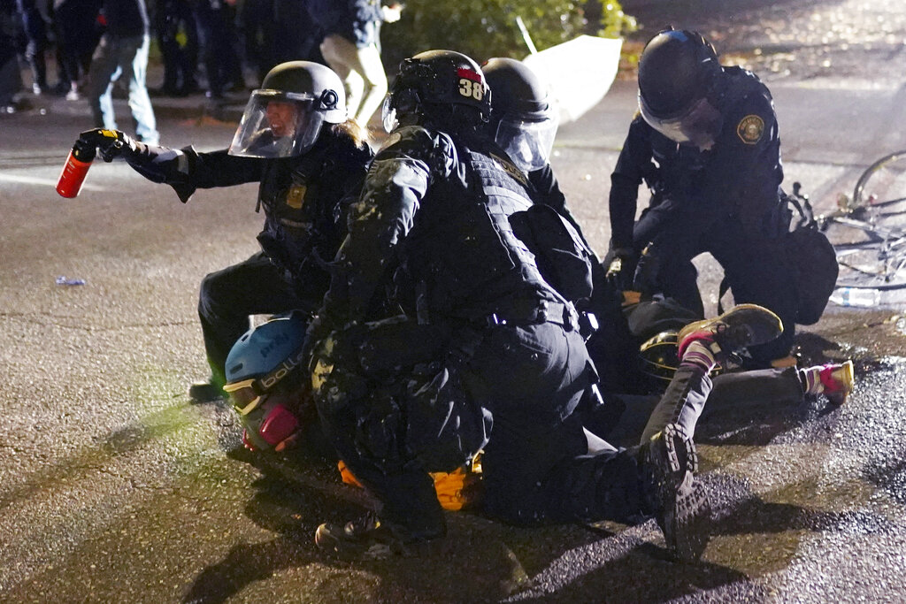 Police brace for more protests in Portland after...