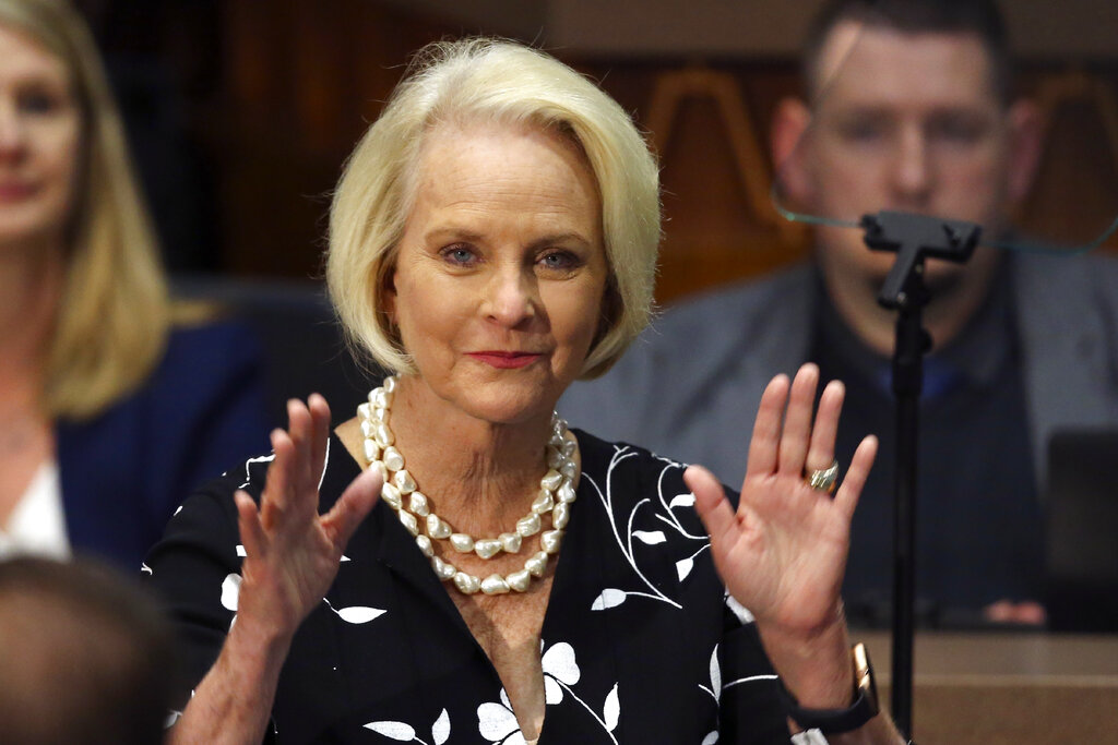 Cindy McCain joins Biden