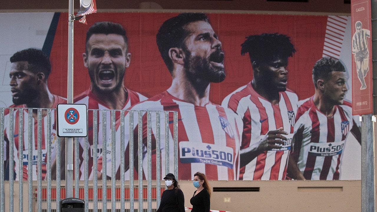 Atlético says 2 group members test positive for coronavirus