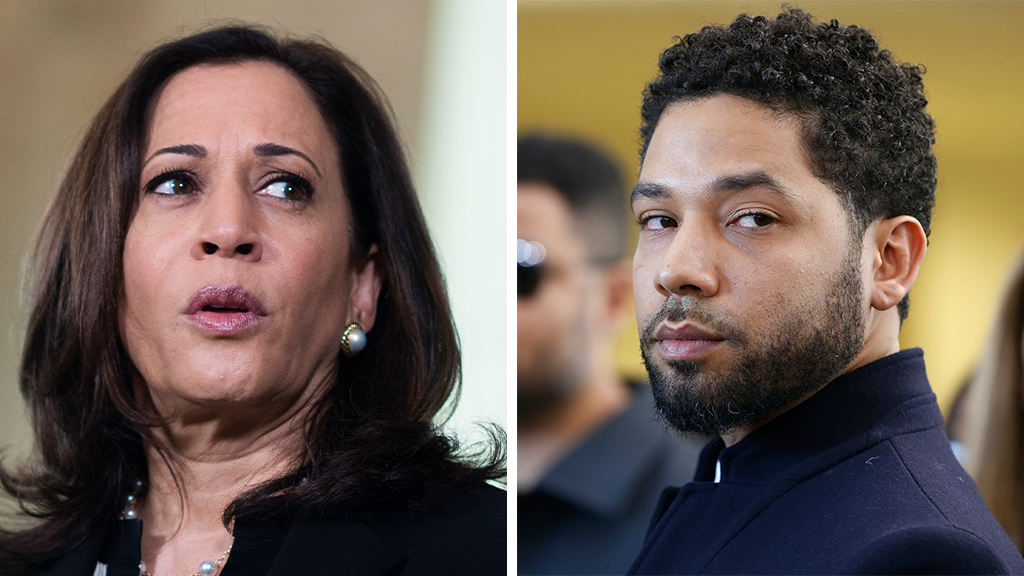 Flashback: Kamala Harris once called Jussie Smollett's claims of an attack an 'attempted modern day lynching'