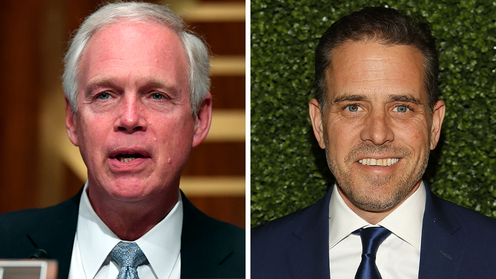 Sen. Ron Johnson defends investigating Joe, Hunter Biden's ties to Ukraine: 'They put themselves' in spotlight