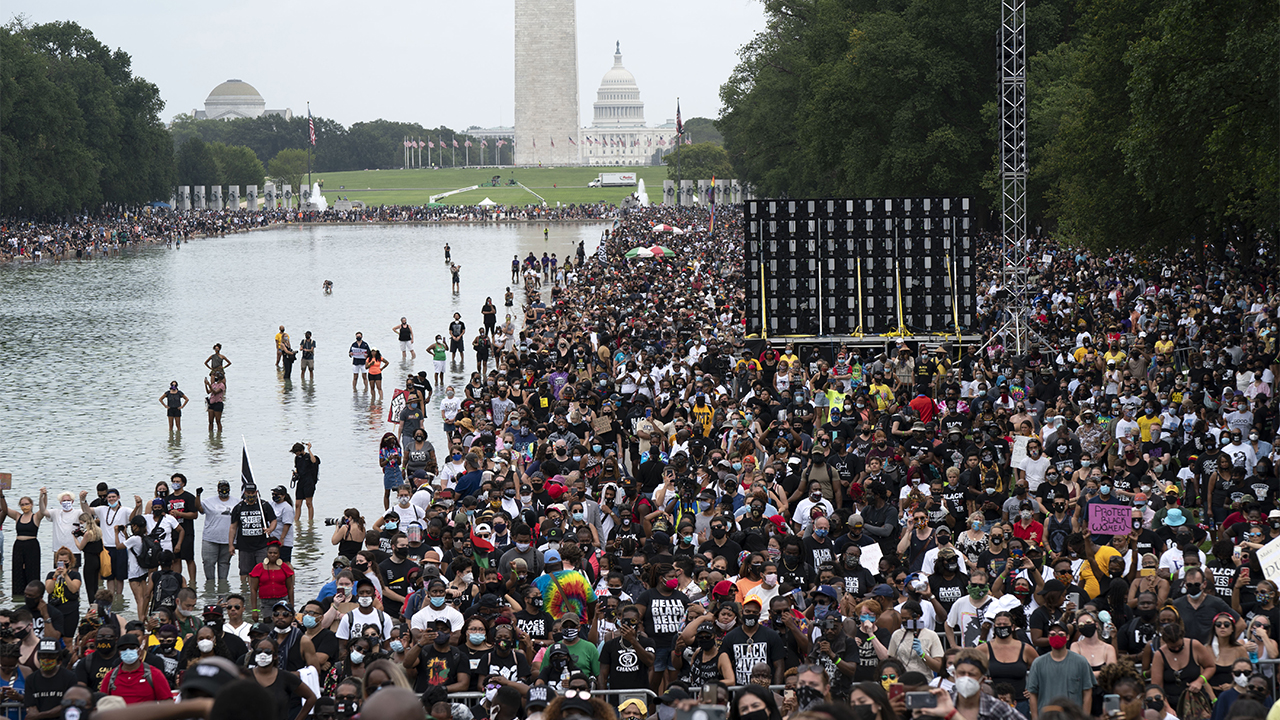 Large demonstrations in D.C. honor Martin Luther King Jr. other Black Americans – Fox News
