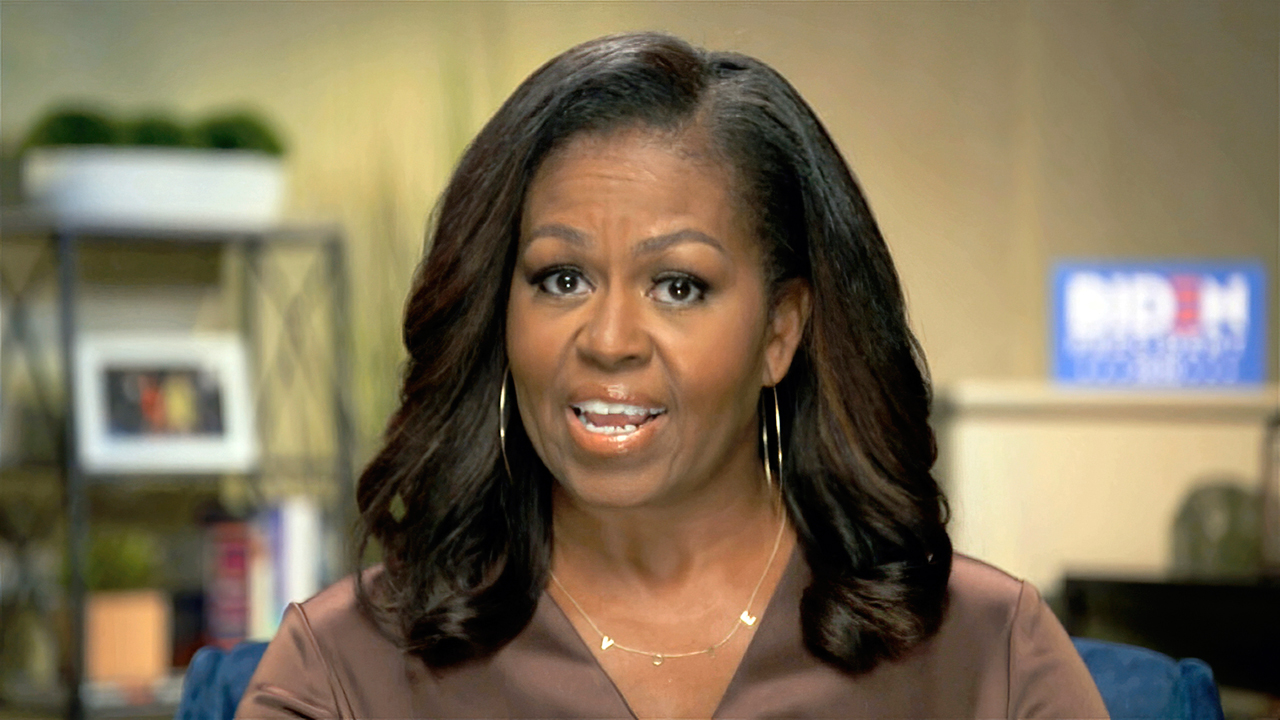 Michelle Obama to Colbert: Nobody rides life on a high - fox
