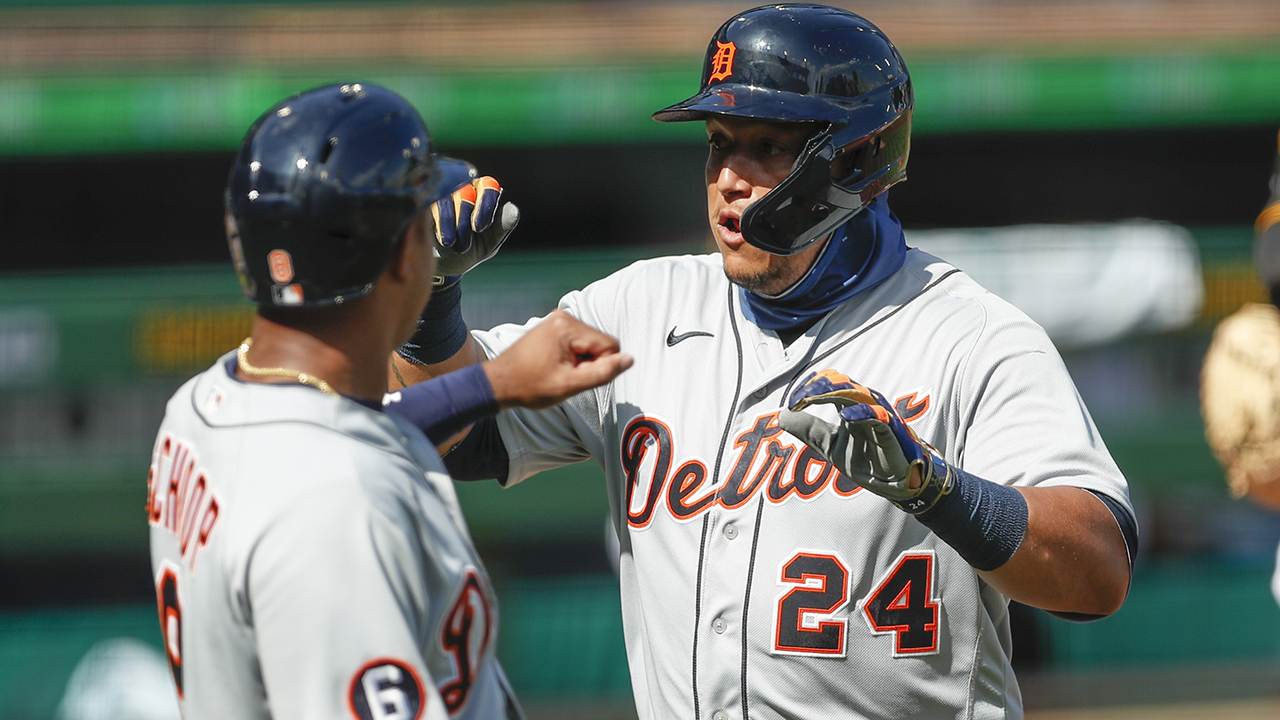 Westlake Legal Group Miguel-Cabrera Tigers bash Pirates early, hitting four home runs in first 11 pitches Ryan Gaydos fox-news/sports/mlb/pittsburgh-pirates fox-news/sports/mlb/detroit-tigers fox-news/sports/mlb fox news fnc/sports fnc ca25b188-41d0-5048-9962-456e3f11851d article