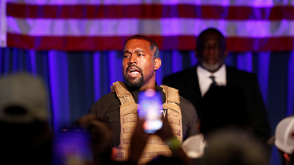 Kanye West indicates he is running for president to siphon votes from Joe Biden - fox