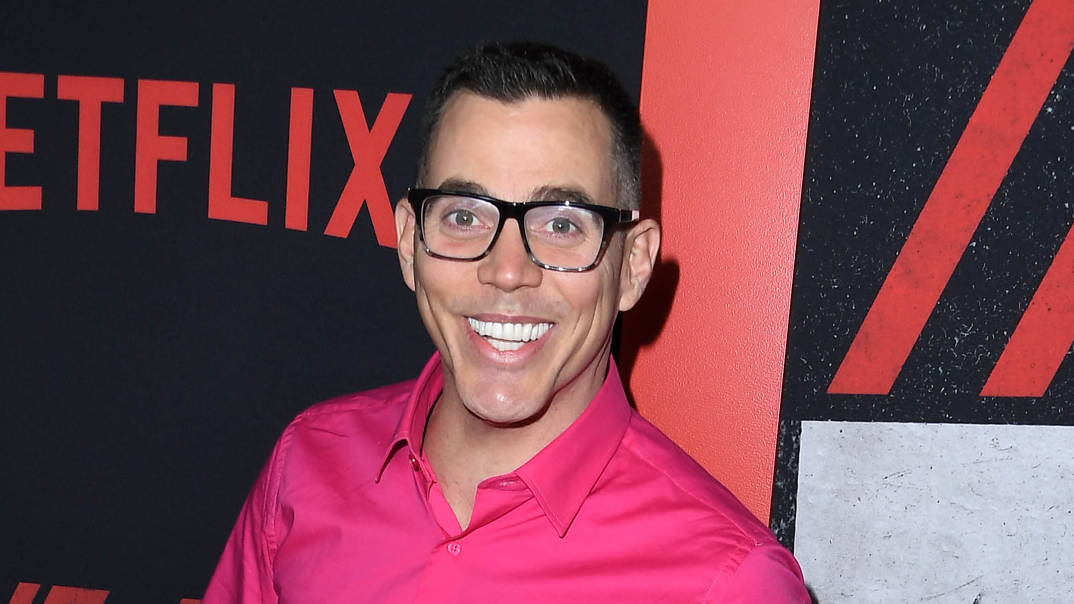 Steve-O Duct Tapes Himself to Promote His New Comedy Special