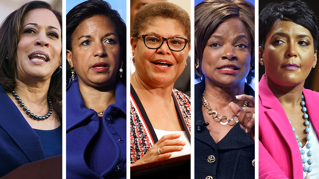 Biden VP finalists praise Kamala Harris