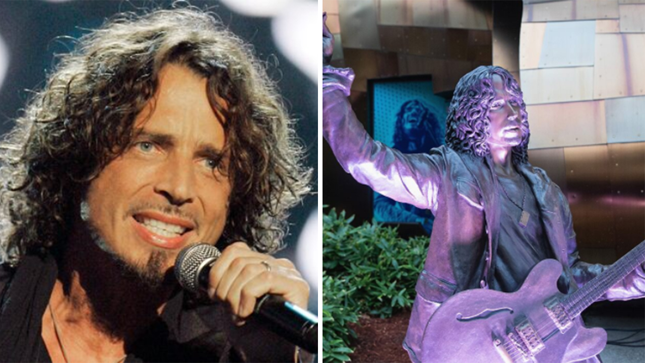 Chris Cornell Statue in Seattle Vandalized