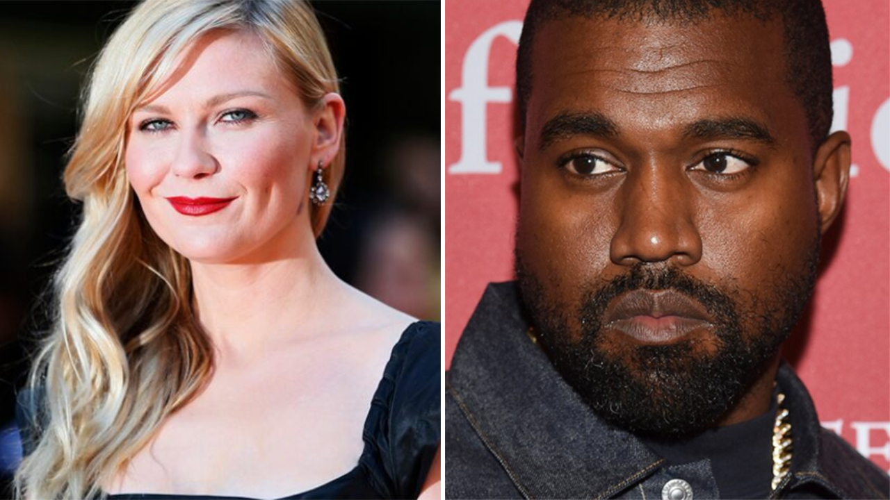 Kirsten Dunst questions Kanye West about her likeness appearing on his campaign materials - Fox News