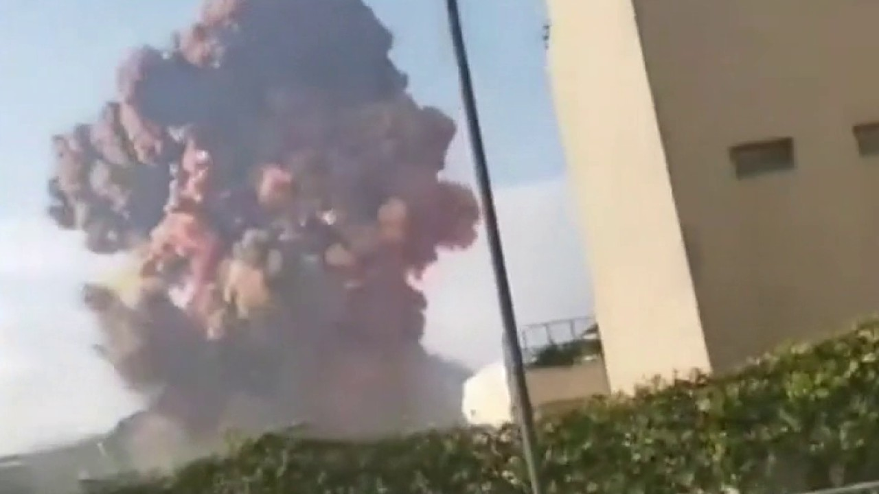 Ex-NSC spokesman Michael Anton describes Beirut explosion as 'accident waiting to happen' thumbnail