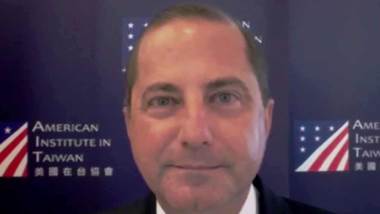 Azar defends Taiwan trip, says China should worry about 'getting more transparent, more open' on coronavirus
