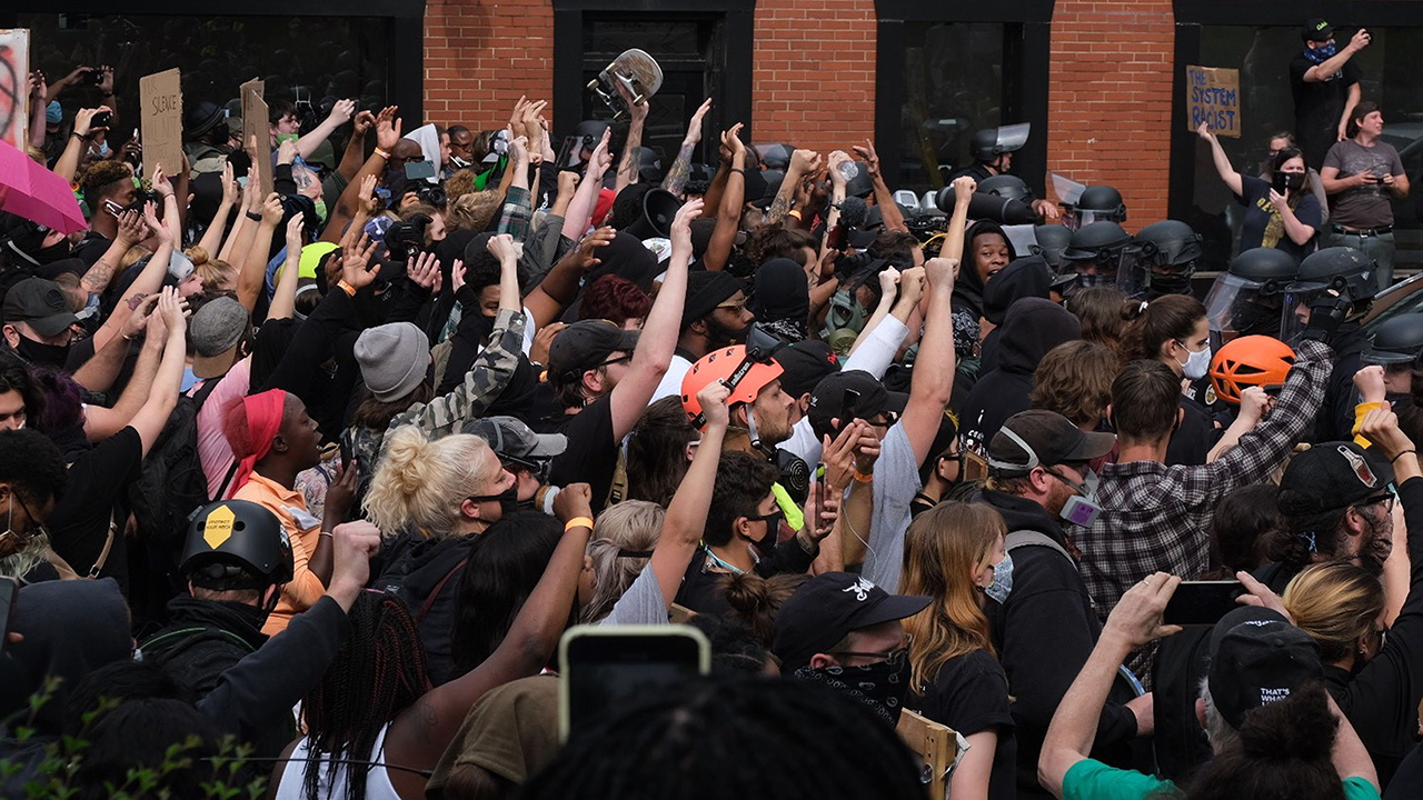Louisville police officers shot as Breonna Taylor protesters take to streets