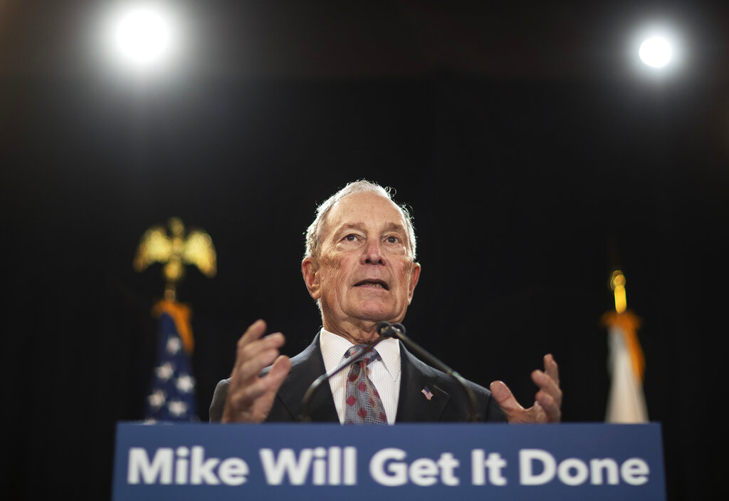 Bloomberg pours $16M into Florida race to pay restitution for former felons to vote