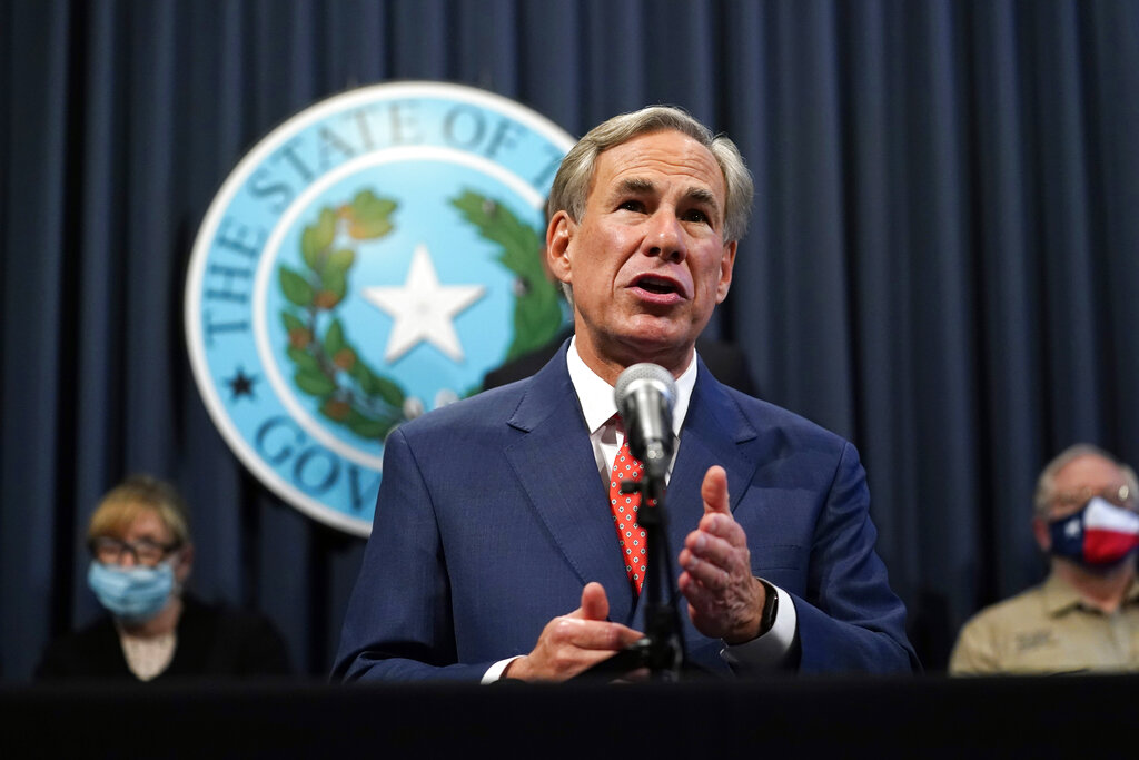 Texas Gov. Abbott announces plan to will fully reopen businesses, end mask mandate - fox