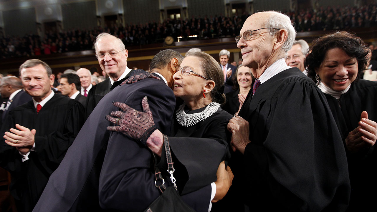 Obama calls Ginsburg a 'warrior for gender equality'