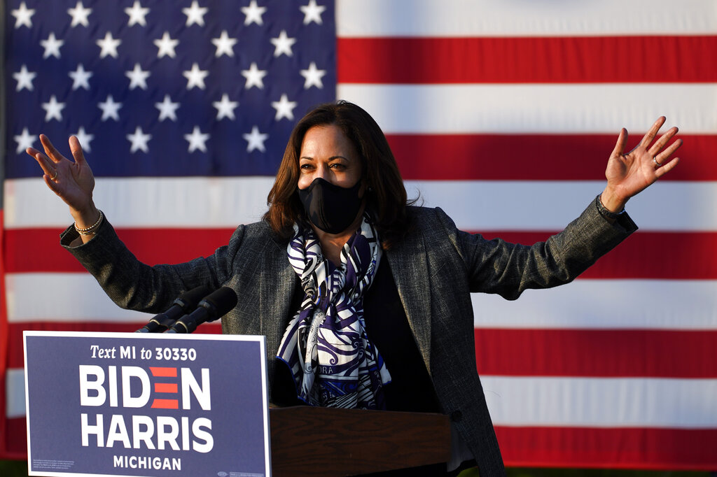 Harris makes misleading statement on COVID-19 business loans while campaigning in Michigan - fox