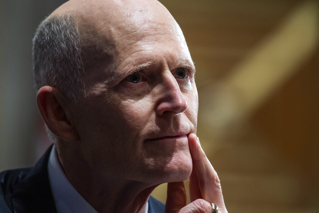 Rick Scott makes 'six-figure' ad buy for Trump in Florida: Report - Fox News