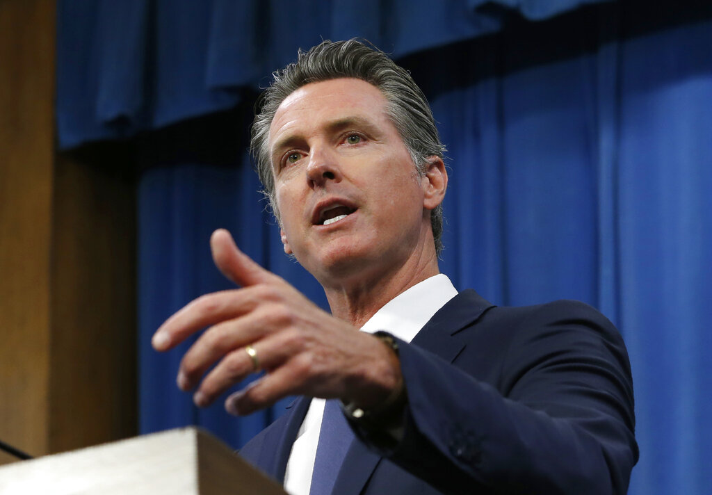 Poll shows Californians happy with Newsoms handling of...