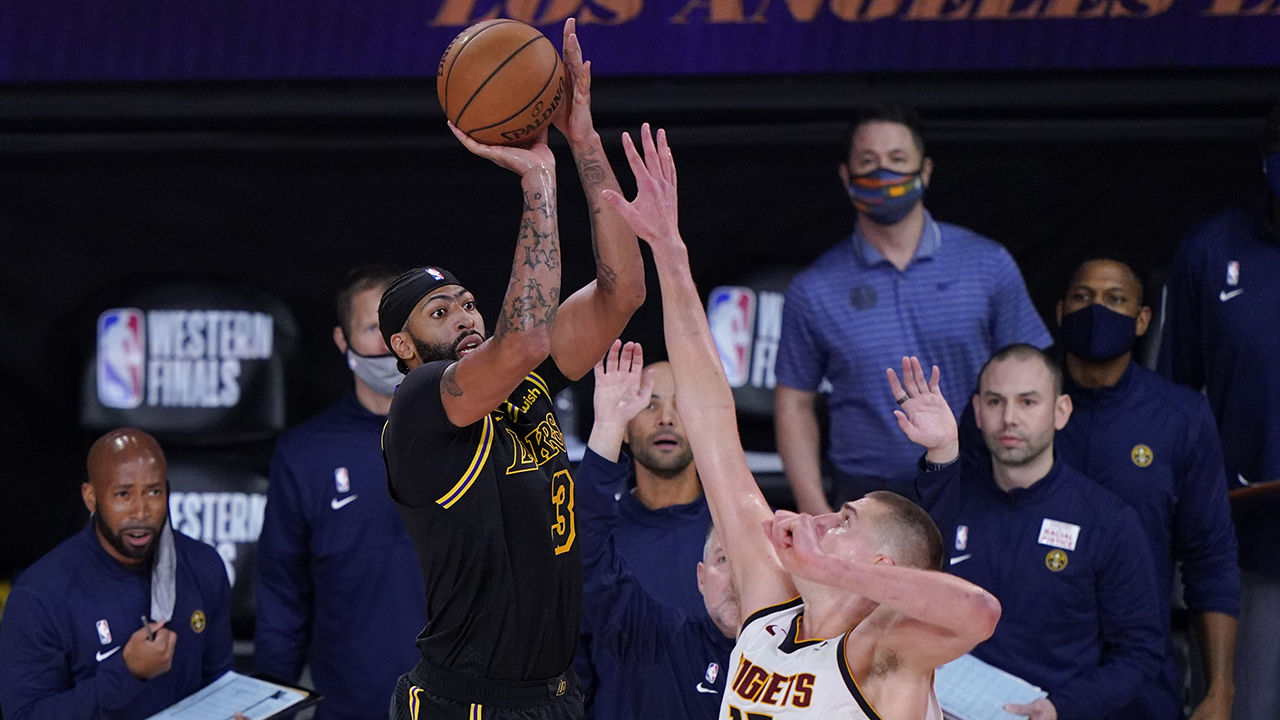 Anthony Davis nails buzzer-beater to lift Lakers over Nuggets in Game 2 - fox