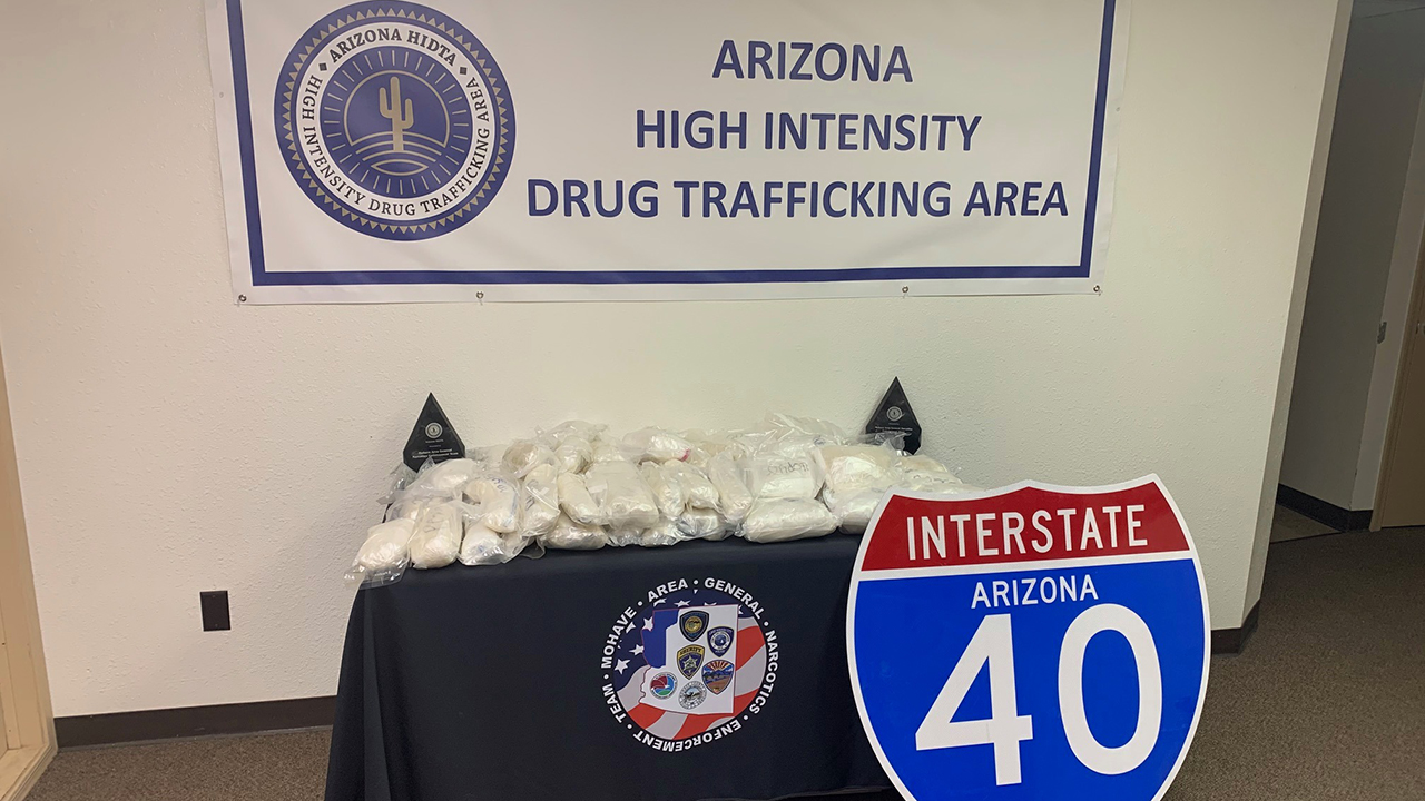 Arizona police dog nabs 4 in $4M meth bust during traffic stop