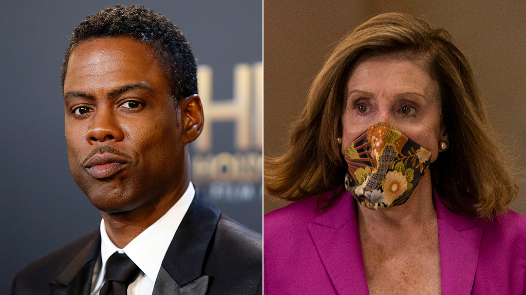 Chris Rock Reuters Pelosi AP.'