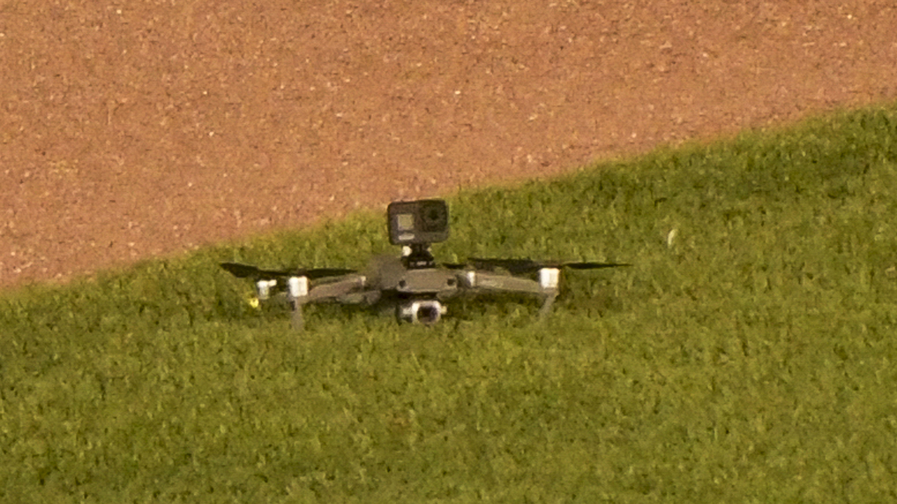 Westlake Legal Group Cubs-drone Drone lands in outfield at Wrigley Field, causing delay fox-news/sports/mlb/cleveland-indians fox-news/sports/mlb/chicago-cubs fox-news/sports/mlb fnc/sports fnc b9420914-1778-5fa0-b386-6498d213882b Associated Press article