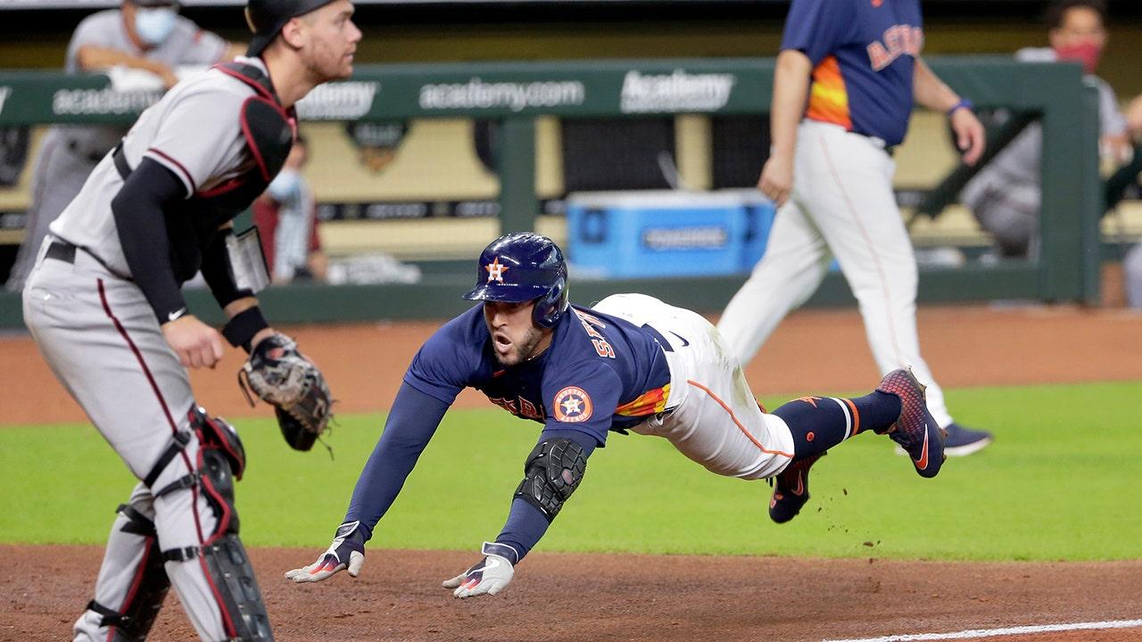 Springer hits inside-the-park HR, Astros top D-backs 3-2 - fox