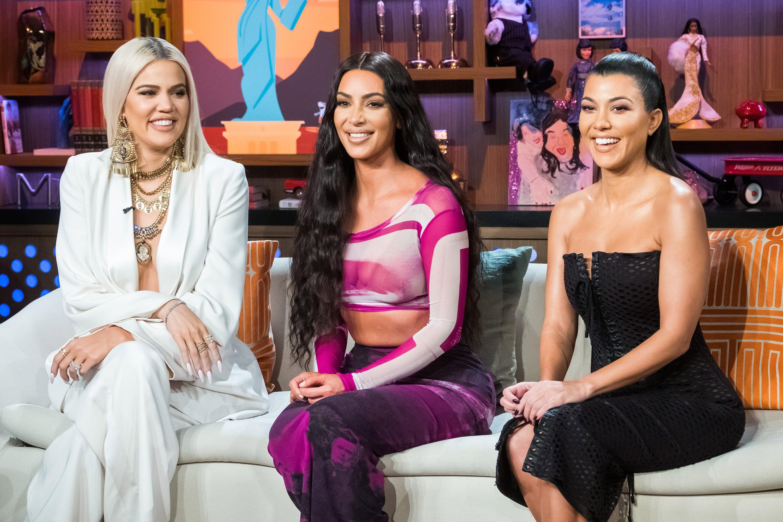 Kim Kardashian shares throwback 'KUWTK' bikini photo with sisters Kourtney and Khloé: 'Trifecta 2006'